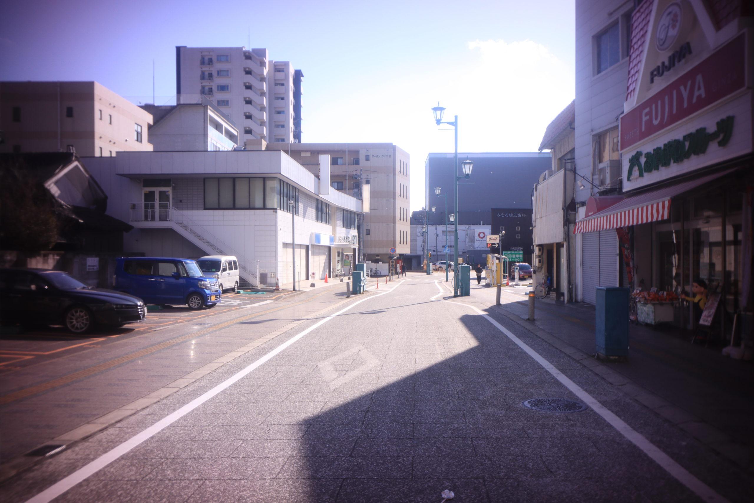 東広島 西条 旧駅前通り